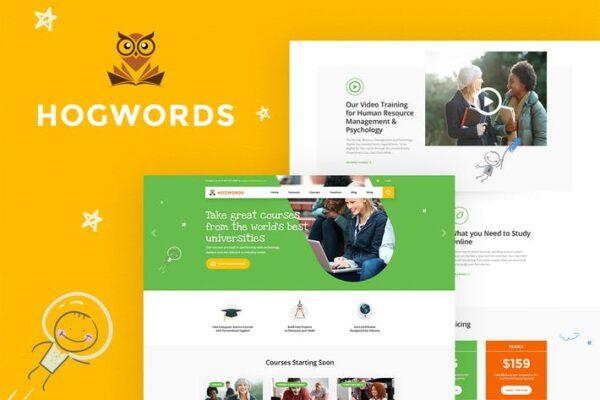 Hogwords - Education Center WordPress Theme 1