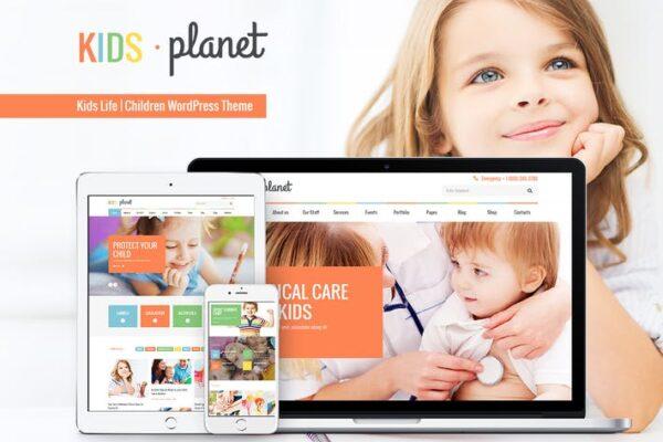 Kids Planet - A Multipurpose Children WP Theme 1