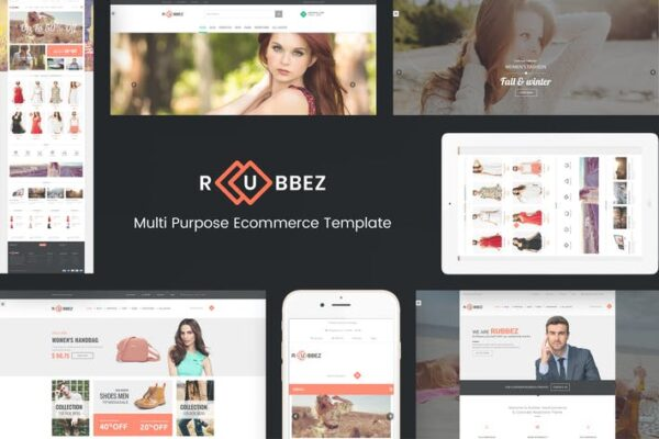 Rubbez- WooCommerce & Corporate WordPress Theme 1