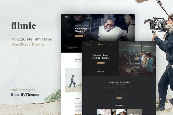 Filmic - Movie Studio & Film Maker WordPress Theme 1