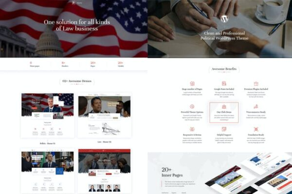 Politix - Political Campaign WordPress Theme 1