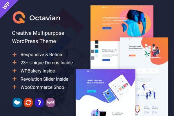 Octavian - Creative Multipurpose WordPress Theme 1