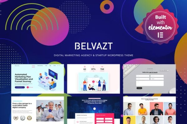 Belvazt - Digital Marketing Agency WordPress Theme 1