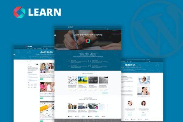 Learn - Education, eLearning WordPress Theme 1