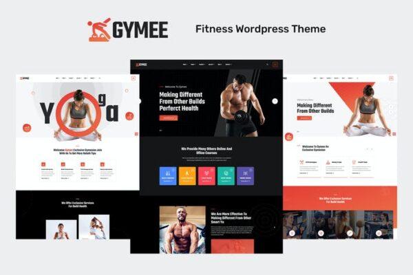 Gymee - Fitness WordPress Theme 1