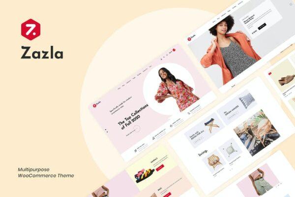 Zazla - Modern & Minimal WooCommerce Theme 1