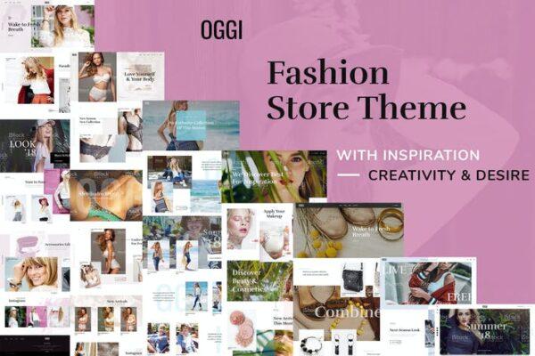 OGGI - Fashion Store WooCommerce Theme 1