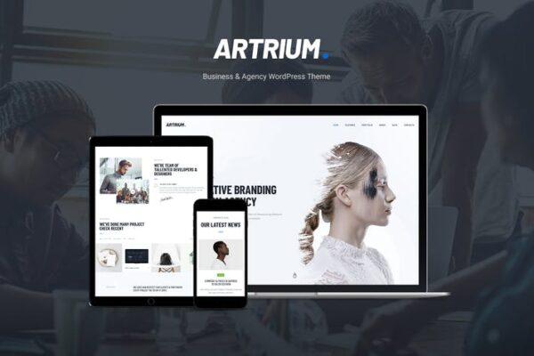 Artrium - Creative Agency & Web Studio WP Theme 1