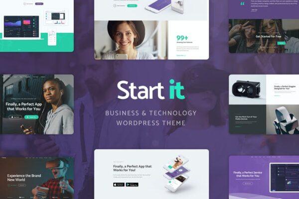 Start It - Technology & Startup WP Theme 1