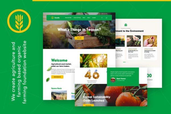 Seodo - Agriculture Farming Foundation WordPress T 1