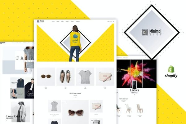 Minimal Shop - WooCommerce Shop 1