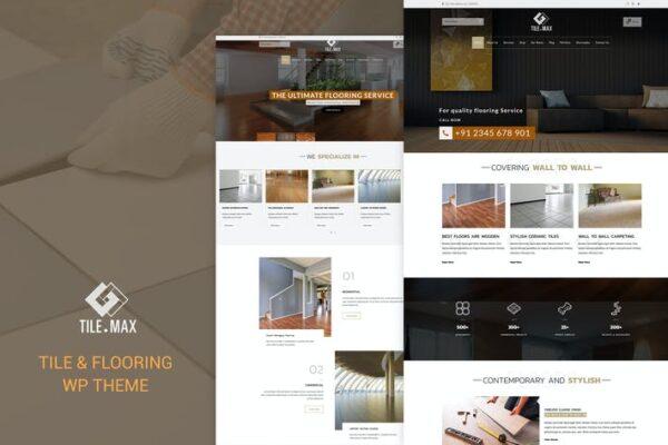 Tile Max - Tile & Flooring WP Theme 1