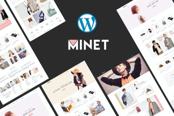 Minet - Minimalist eCommerce WordPress Theme 1