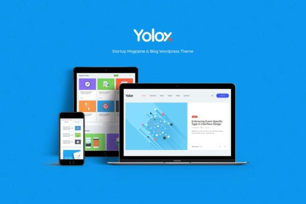 Yolox - Modern WordPress Blog Theme for Business 1