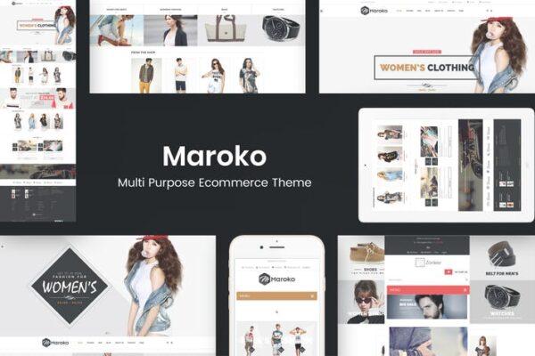 Maroko - Responsive WordPress Fashion Theme 1