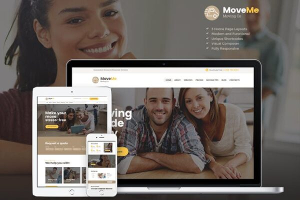 MoveMe - Moving & Storage Relocation Company WP 1