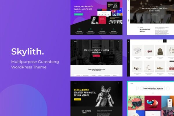 Skylith - Multipurpose Gutenberg WordPress Theme 1
