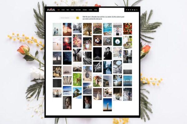 Paintable - Photography / Photos Blog Theme 1