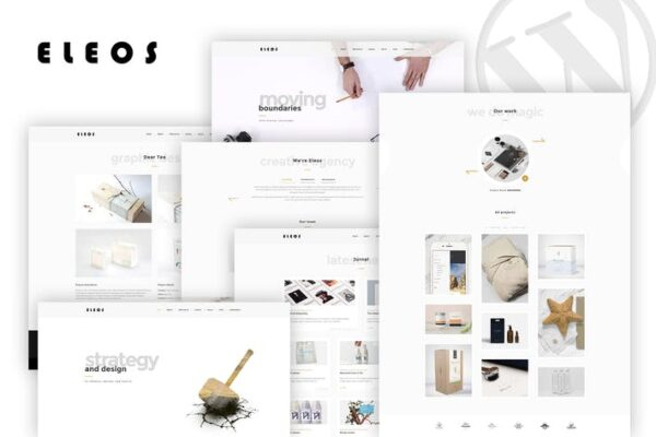 Eleos - One-Page Creative WordPress Theme 1