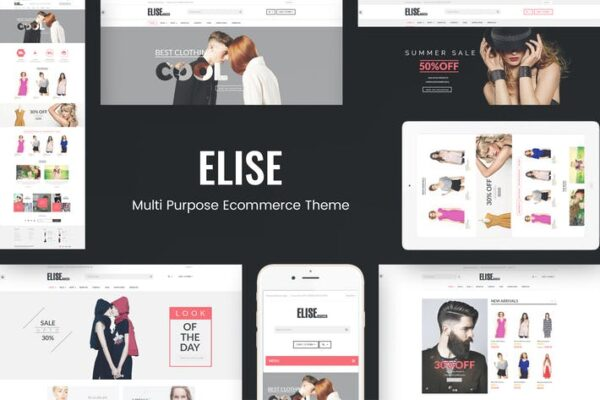 Elise - Fashion WooCommerce WordPress Theme 1