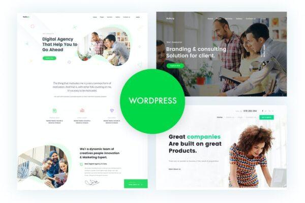 Gullu - Agency & Multipurpose WordPress Theme 1
