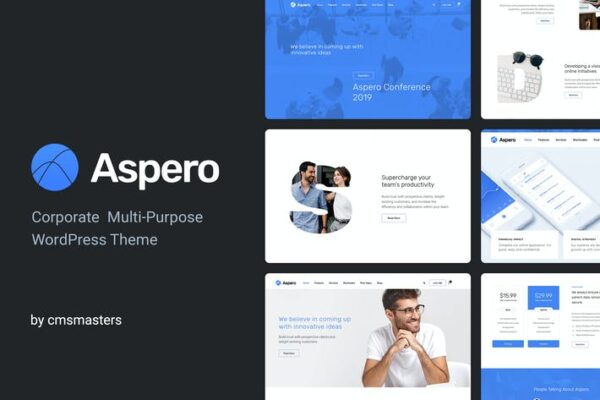 Aspero - Business WordPress Theme 1
