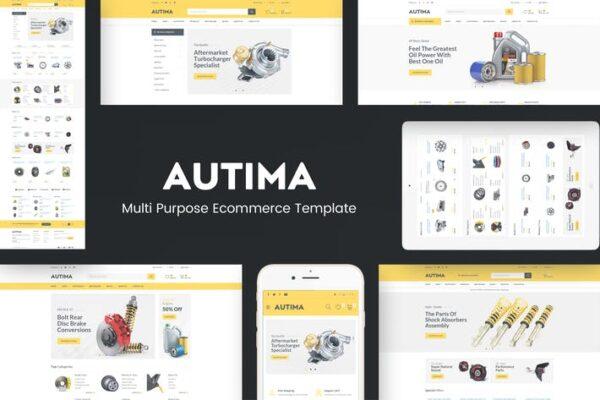 Autima - Car Accessories Theme for WordPress 1