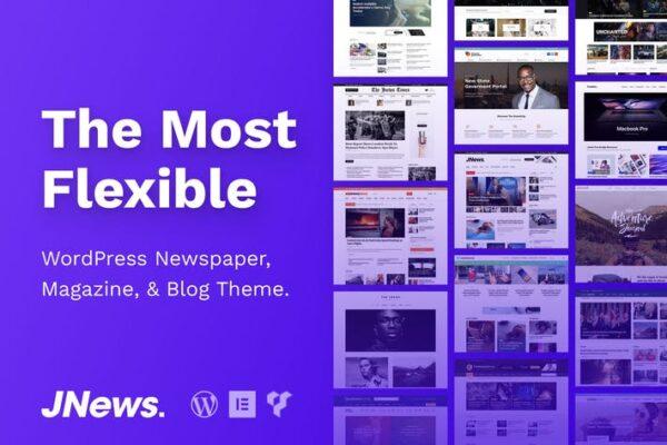 JNews - WordPress Newspaper Magazine Blog Theme 1