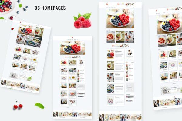 Bizi - A WordPress Theme for Food Bloggers 1