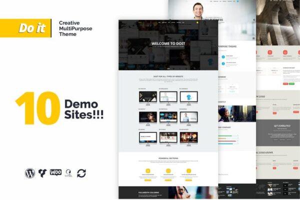 DOIT - Creative Agency MultiPurpose Theme 1