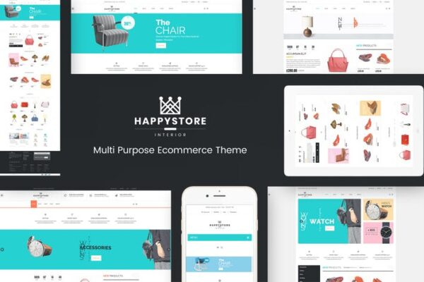 HappyStore - WordPress WooCommerce Theme 1
