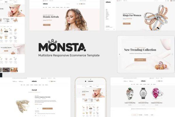 Monsta - Jewelry WooCommerce WordPress Theme 1