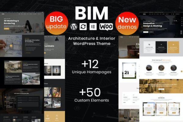 BIM - Architecture & Interior Design WP Theme 1