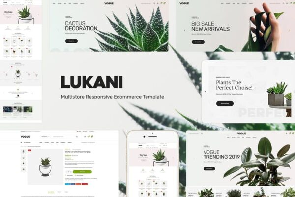 Lukani - Plant Theme for WooCommerce WordPress 1