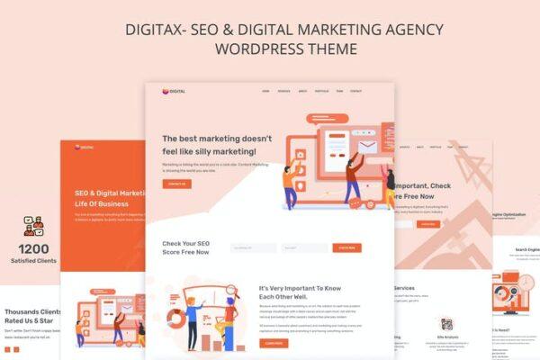 Digitax - SEO & Digital Marketing Agency Themes 1