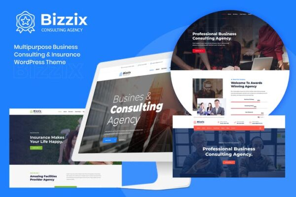 Bizzix - Multipurpose Business Elementor WordPress 1