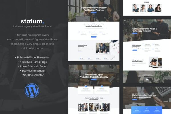 Statum - Business & Agency WordPress Theme 1