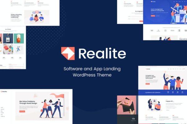 Realite - Fresh Startup Business Theme 1