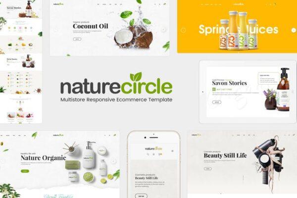 NatureCircle - Organic WooCommerce WordPress Theme 1