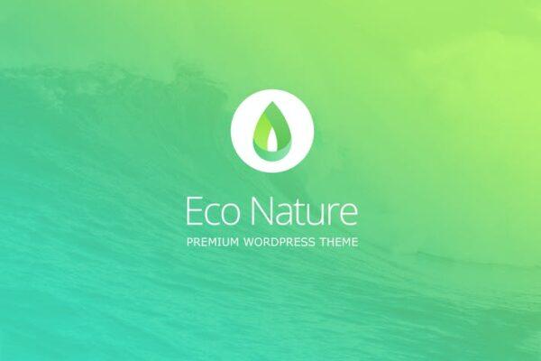 Eco Nature - Environment & Ecology WordPress Theme 1