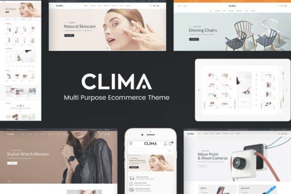 Clima - Responsive WooCommerce WordPress Theme 1