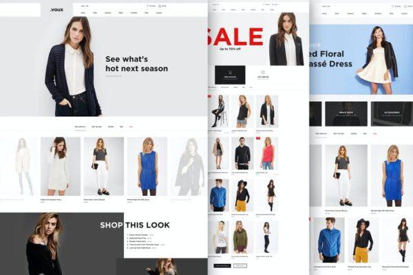 Voux Fashion Shopping Theme 1