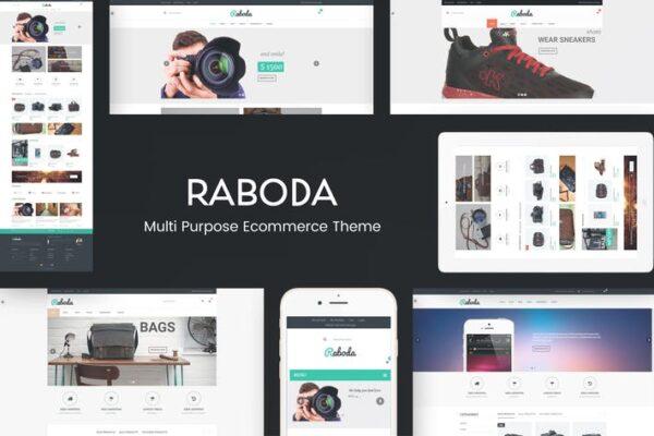 Raboda - eCommerce Responsive WordPress Theme 1
