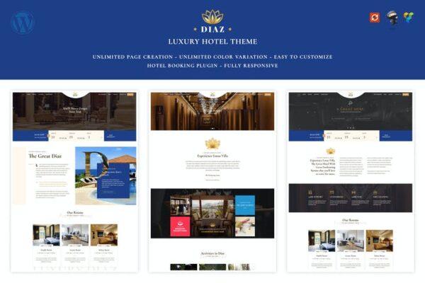 Hotel Diaz - Hotel Booking Theme 1