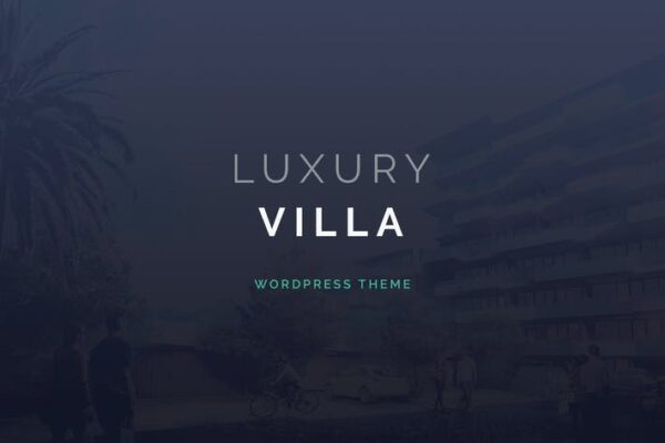 Luxury Villa - Property Showcase WordPress Theme 1
