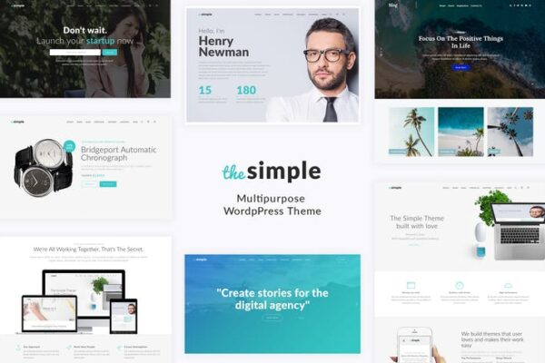 Simple - Business WordPress Theme 1