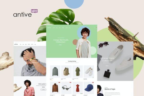 Antive - Minimal and Modern WooCommerce AJAX Theme 1