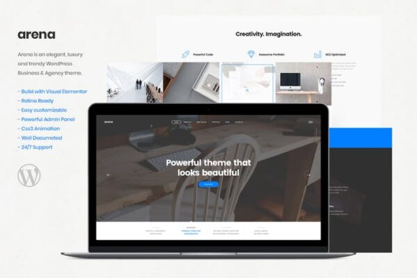 Arena - Business & Agency WordPress Theme 1
