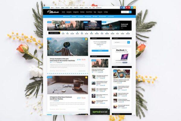 Multicote - News Magazine / WooCommerce WP Theme 1