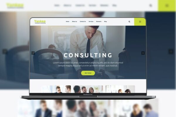 Yankee - Consulting WP Theme 1